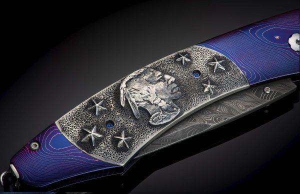 William Henry Limited Edition B12 Buffalo Nickel III Knife