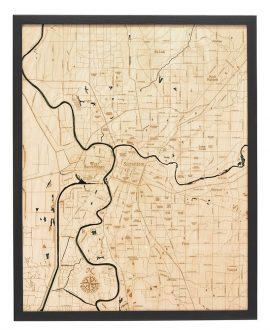 Bathymetric Map of Sacramento, California