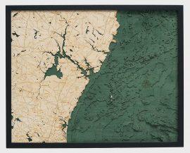 Bathymetric Map New Hampshire Coast