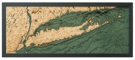 Bathymetric Map Long Island Sound