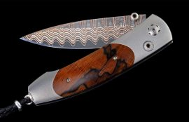 William Henry Limited Edition B05 Yellow Hills Knife