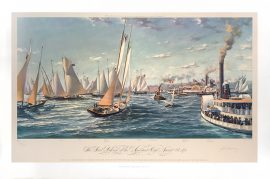 John Mecray - The First Defense of the America's Cup