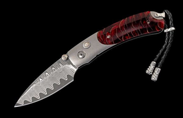 William Henry Limited Edition B09 Red Wave Knife