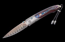 William Henry Limited Edition B10 Blue Wave Knife