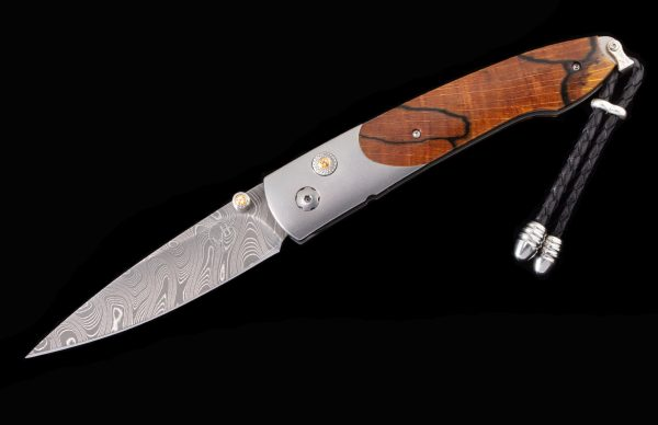 William Henry Limited Edition B10 Yellow Beech Knife